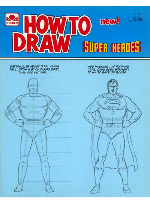 DC Super Heroes How to Draw