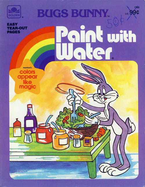 Bugs Bunny Paint With Water