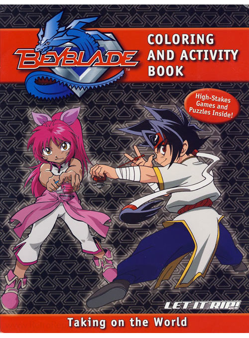 Beyblade Taking on the World