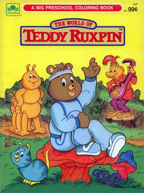 Adventures of Teddy Ruxpin, The Coloring Book
