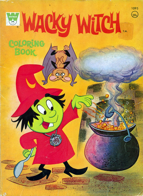 Wacky Witch Coloring Book