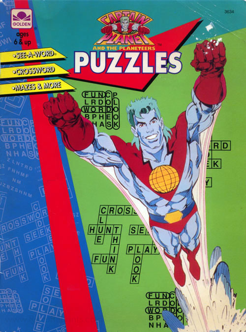 Captain Planet and the Planeteers Coloring Book