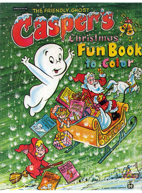 Casper & Friends Christmas Fun Book