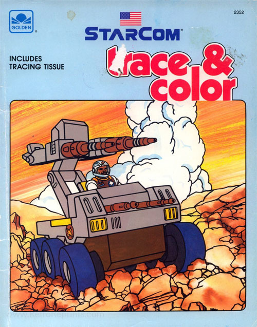 Starcom: The U.S. Space Force Trace & Color