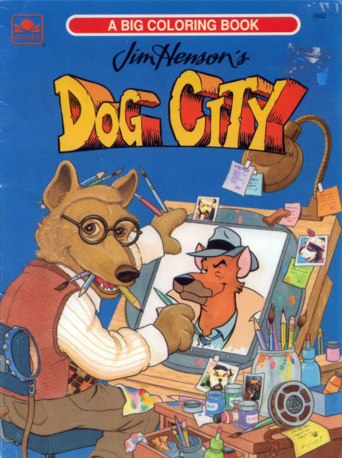 Dog City, Jim Henson's Coloring Book