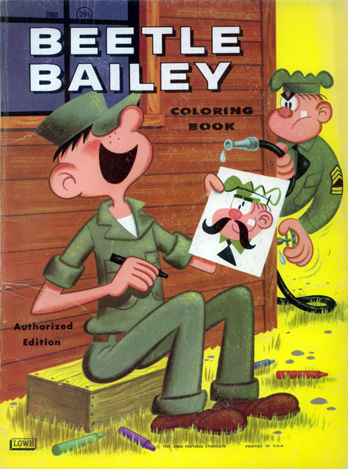 Beetle Bailey Coloring Book
