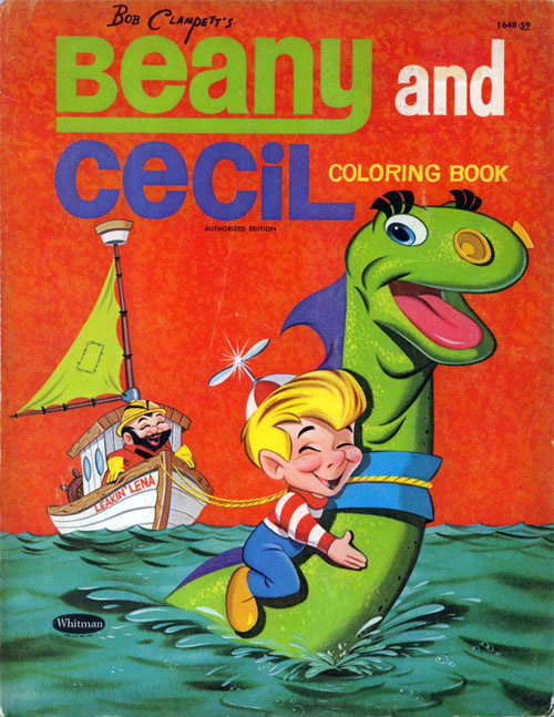Beany & Cecil Coloring Book