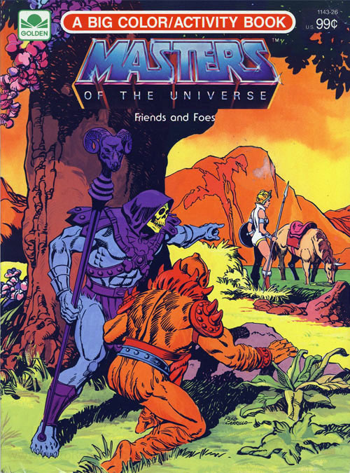He-Man and the Masters of the Universe Friends and Foes