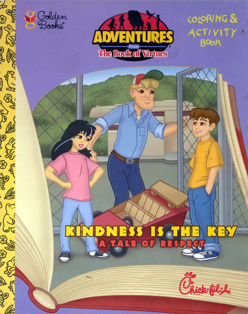 Adventures from the Book of Virtues, The Kindness is the Key