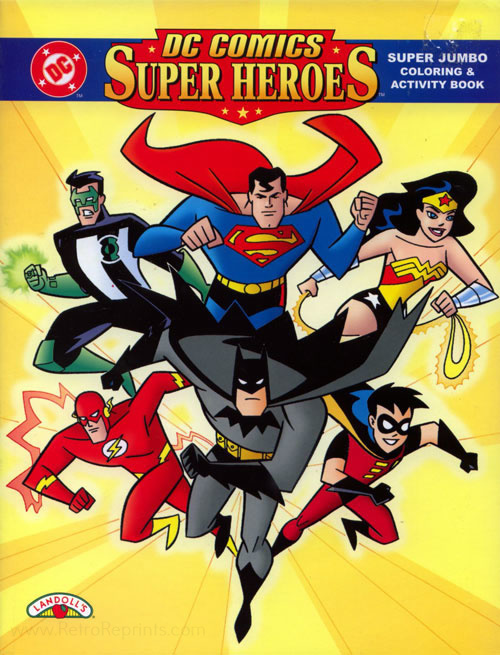 DC Super Heroes Coloring and Activity Book