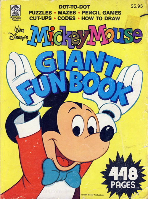 Mickey Mouse and Friends Giant Fun Book