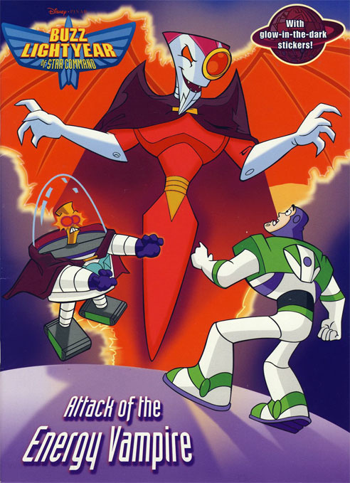 Buzz Lightyear of Star Command Attack of the Energy Vampire