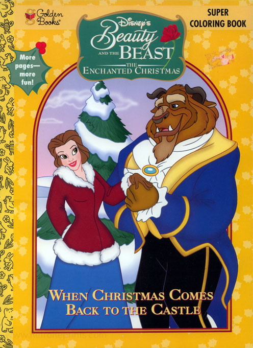 The Enchanted Christmas Coloring Books