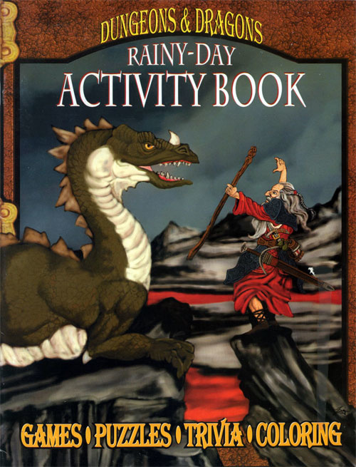 Dungeons & Dragons Rainy Day Activity Book