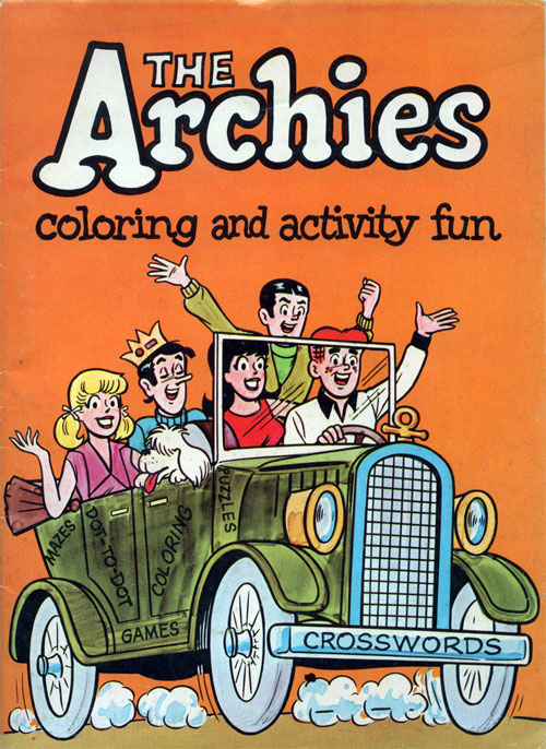 Archies, The Coloring and Activity Book