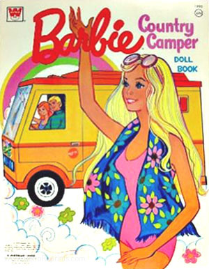 Barbie Country Camper Doll Book