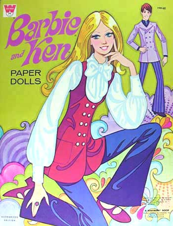 Barbie Paper Doll