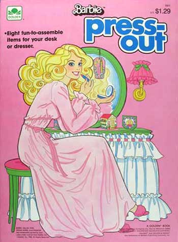 Barbie Press Out Book