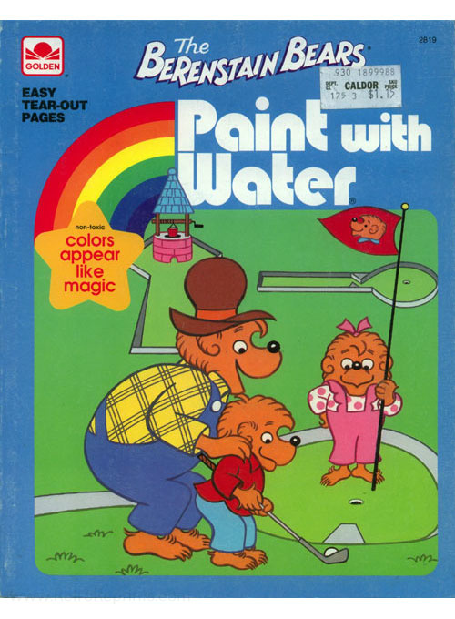 Berenstain Bears, The Paint with Water