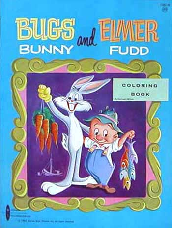Bugs Bunny Coloring Book