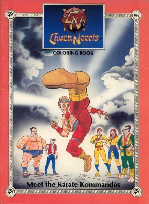 Chuck Norris (Meet the Karate Kommandoes; 1986) Marvel