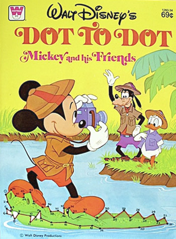 Mickey Mouse and Friends Dot Book