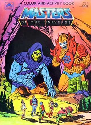 He-Man and the Masters of the Universe Coloring and Activity Book