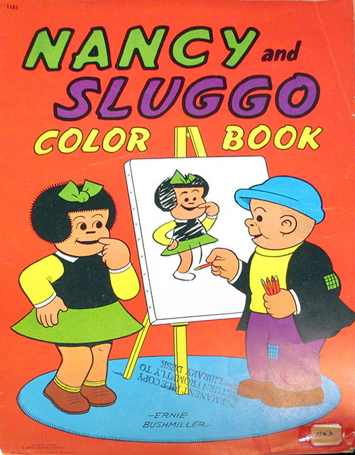 Nancy & Sluggo Coloring Book