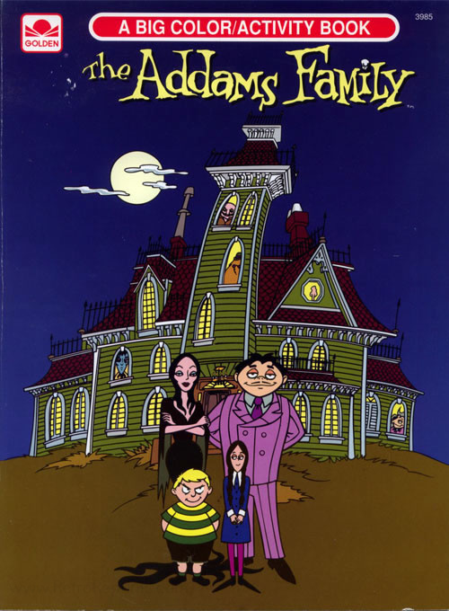 Addams Family, The (1992) Coloring Book