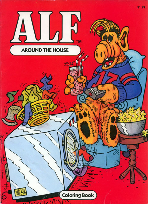 Alf: The Animated Series Around the House