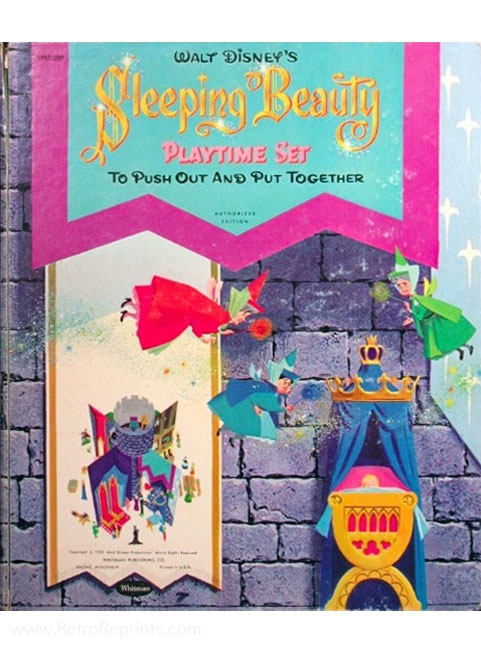 Sleeping Beauty, Disney's Press Out Book