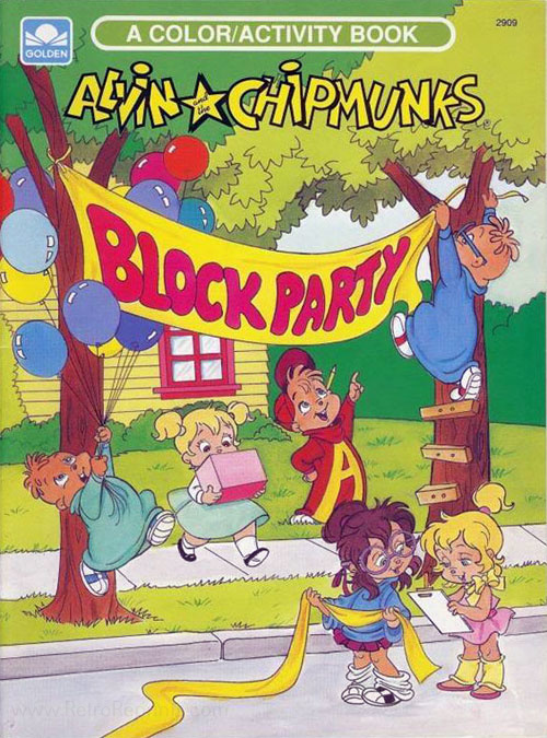 Alvin and the Chipmunks Block Party