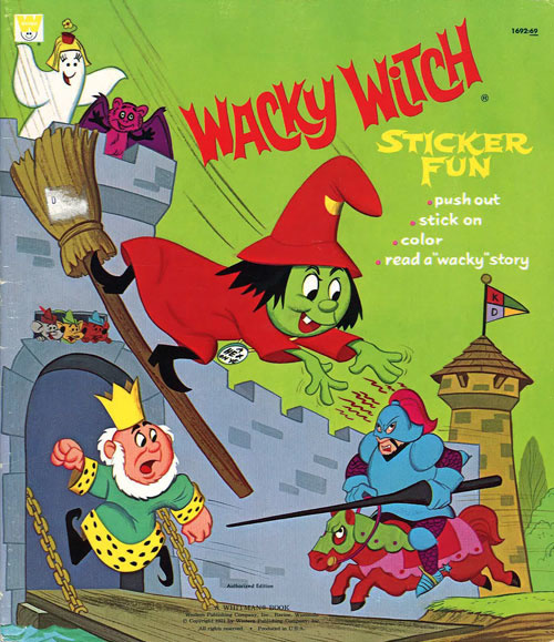Wacky Witch Sticker Fun