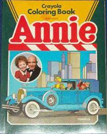 Little Orphan Annie Crayola Coloring Book