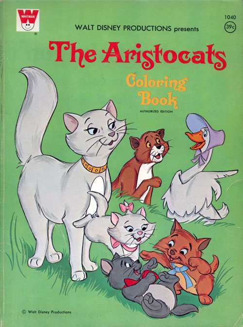 Aristocats, The Coloring Book