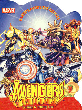 Avengers Coloring and Activity Book