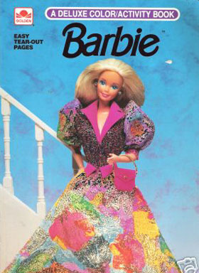 Barbie Coloring and Activity Book