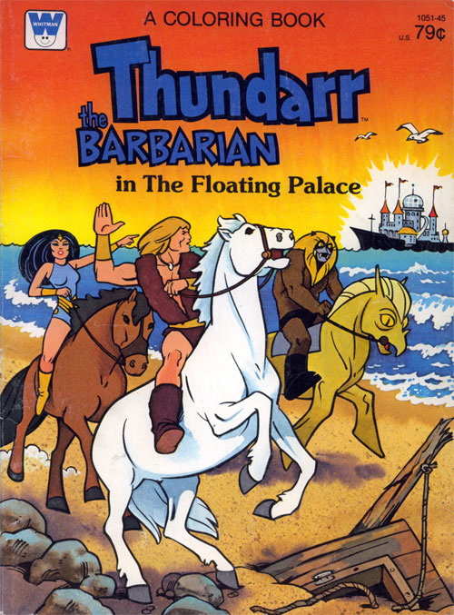 Thundarr the Barbarian The Floating Palace