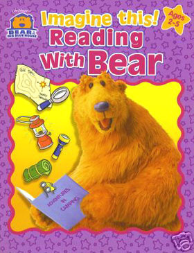 Bear in the Big Blue House Reading with Bear