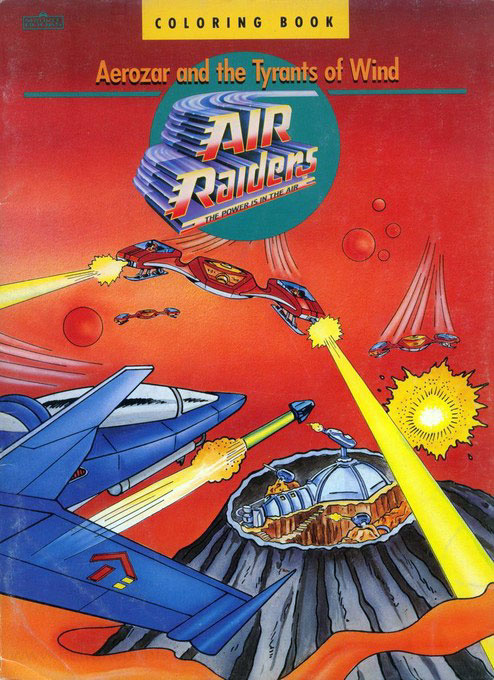 Air Raiders Aerozar and the Tyrants of the Wind
