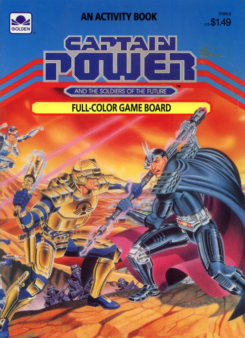 Captain Power and the Soldiers of the Future Activity Book