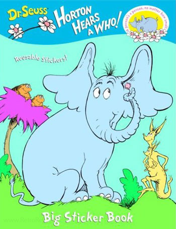 Horton Hears a Who! Sticker Book