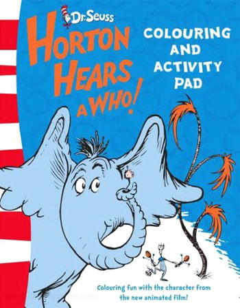 Horton Hears a Who! Coloring and Activity Book