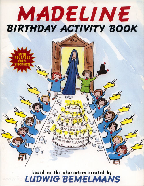 Madeline Activity Book