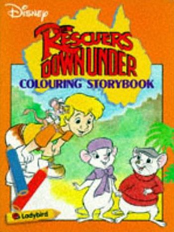 Rescuers Down Under, The Coloring Book