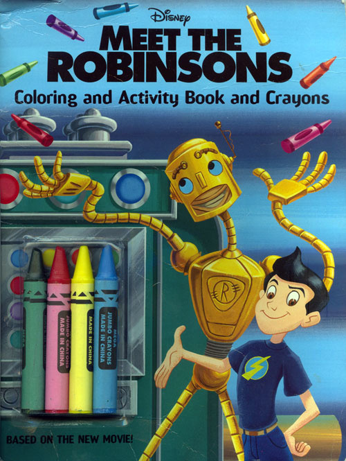Meet the Robinsons Coloring and Activity Book
