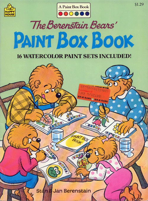 Berenstain Bears, The Paint Box Book
