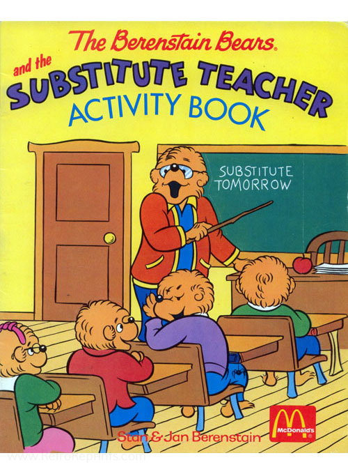 Berenstain Bears, The Substitute Teacher