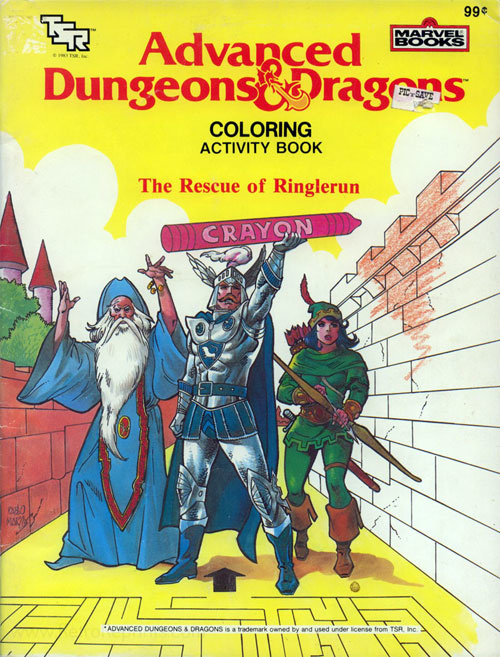 Dungeons & Dragons The Rescue of Ringlerun