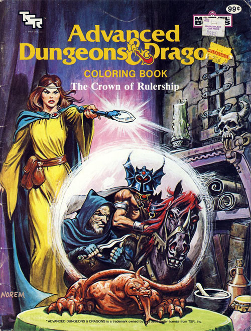 Dungeons & Dragons The Crown of Rulership